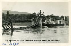 Environs de Lyon - Les ponts meurtris