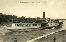 """Le Bateau-Salon de Luxe """"Ville de Lyon"""""""