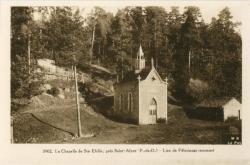 La Chapelle de Ste-Elidie, près Saint-Alyre (P.-de-D.) ; Lieu de Pèlerinage renommé.
