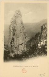 Auvergne : Chaudefour ; Roche de la Rancune.