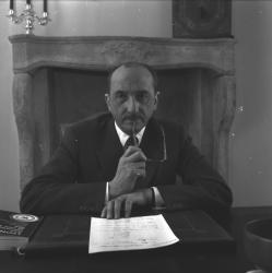 Robert Perrier, président de la Foire de Lyon