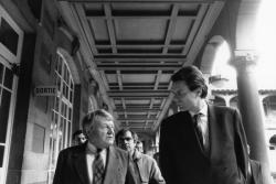 [André Maréchal et Michel Noir au Lycée du Parc]