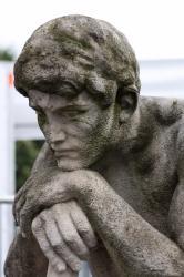 """Statue """"Le Répit"""" de Jules Pendariès (détail)"""