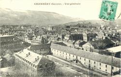 Chambéry (Savoie) : Vue générale
