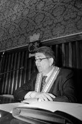 [Conseil municipal de Villeurbanne : élection de Raymond Terracher]