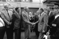 [Voyage du Président François Mitterrand dans la région lyonnaise]