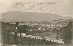 Chambéry (Savoie) : Vue générale ; Le Champ de tir.