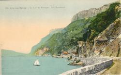 Aix-les-Bains : Lac du Bourget ; La Chambotte.