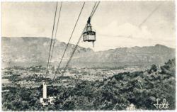Aix-les-Bains : Téléférique du Mont-Revard ; Le lac ; la Dent du Chat.