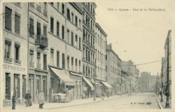 Lyon : Rue de la Thibaudière