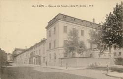 Lyon : Caserne des Pompiers de la Madeleine.