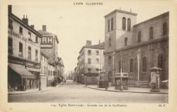 Lyon Illustré : Eglise Saint-Louis ; Grande rue de la Guillotière.