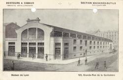 Descours et Cabaud ; produits métallurgiques ; section machines-outils ; Maison de Lyon