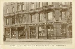 Lyon : Avenue Félix Faure ; Avenue Jean-Jaurès.