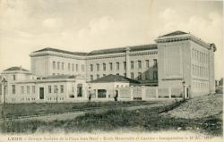 Lyon : Groupe scolaire de la Place Jean-Macé ; Ecole Maternelle et Cantine ; Inauguration  le 21 déc. 1913.