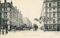 Lyon : l'Avenue de Saxe