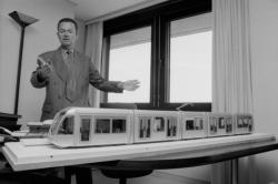 [Maquette du Citadis, futur tramway de Lyon]
