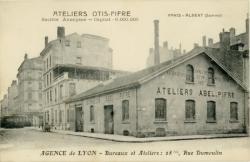 Atelier Otis-Pifre ; Agence de Lyon ; Bureaux et Ateliers : 28 bis Rue Dumoulin.
