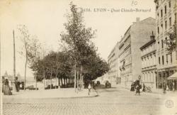 Lyon : Quai Claude-Bernard.