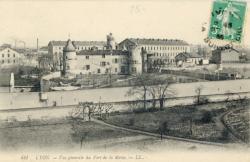 Lyon : Vue générale du Fort de la Motte.