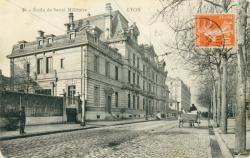 Ecole de Santé Militaire : Lyon.
