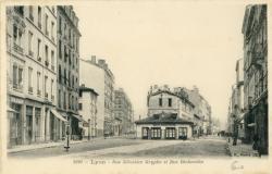 Lyon : Rue Sébastien Gryphe et Rue Béchevelin.