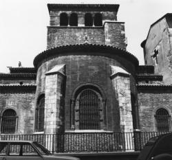 [Chevet de la basilique Saint-Martin d'Ainay]