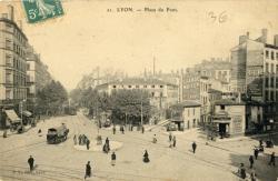 Lyon : Place du Pont
