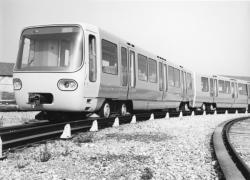 [Rame prototype du métro de l'agglomération lyonnaise (CGE-Alsthom)]