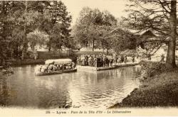 Lyon : Parc de la Tête d'Or - Le Débarcadère.