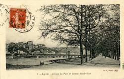 Lyon : Avenue du Parc et Coteau Saint-Clair.