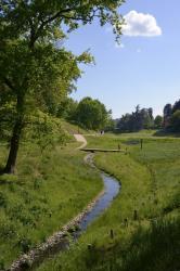 Parc du Vallon, le ruisseau des gorges.