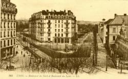Lyon : Boulevard du Nord et Boulevard du Lycée.