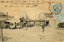 Lyon : Cours Vitton ; Nouveau Pont du Chemin de fer.