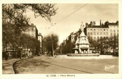 Lyon : Place Morand