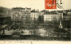 Lyon : La Place Morand.