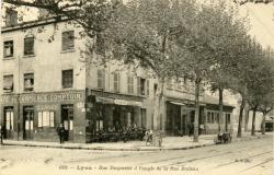 Lyon : Rue Duquesne à l'angle de la Rue Boileau.