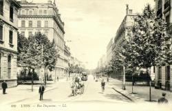 Lyon : Rue Duquesne.