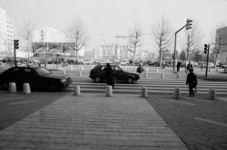 [Quartier La Villette. Rue de la Villette et place de Francfort]