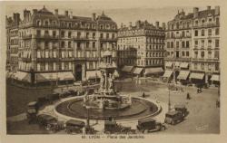 Lyon : Place des Jacobins.