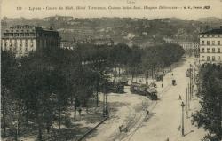 Lyon : Cours du Midi ; Hôtel Terminus ; Coteau Saint-Just ; Hospice Debrousse.
