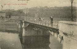 Lyon : Le Pont de la Mulatière.