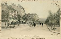 Lyon : Cours Charlemagne.