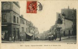 Lyon : Croix-Rousse ; Montée de la Grande Côte.