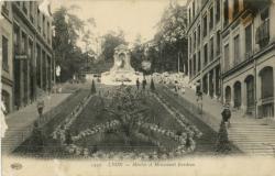 Lyon : Montée et Monument Burdeau.