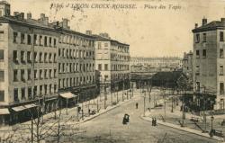 Lyon : Croix- Rousse ; Place des Tapis.