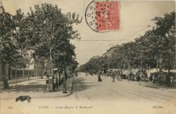 Lyon : Croix-Rousse ; le Boulevard