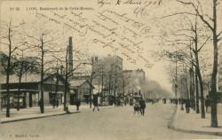 Lyon : Boulevard de la Croix-Rousse.