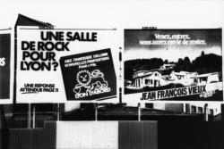 [Affiche du candidat Francisque Collomb pour les élections municipales de 1983]