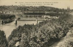 Lyon : Ponts du Palais de Justice ; du Change et la Feuillée ; Quai St-Antoine et de la Pêcherie.